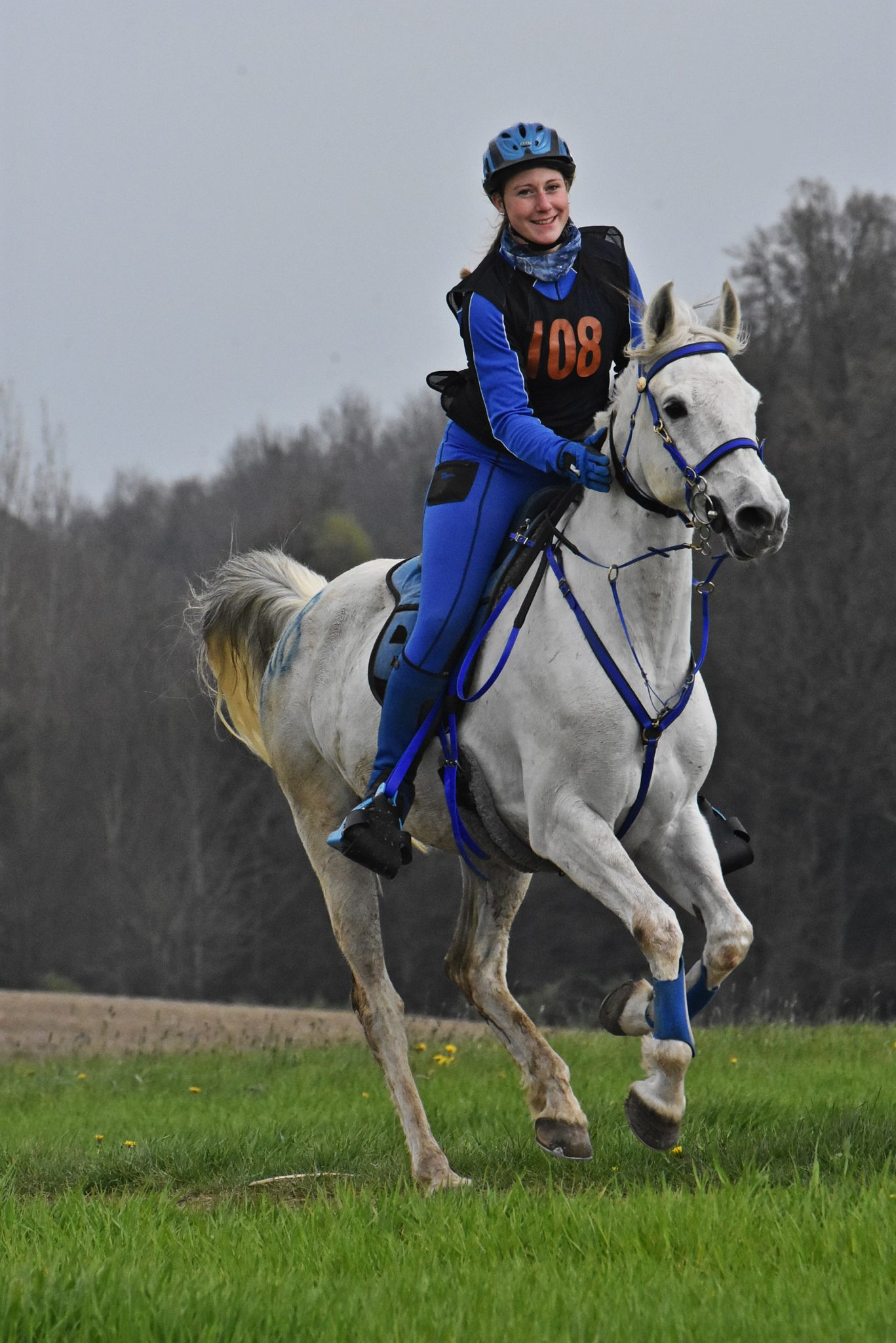 Endurance World Bavaria Spring. One of the leading riders.