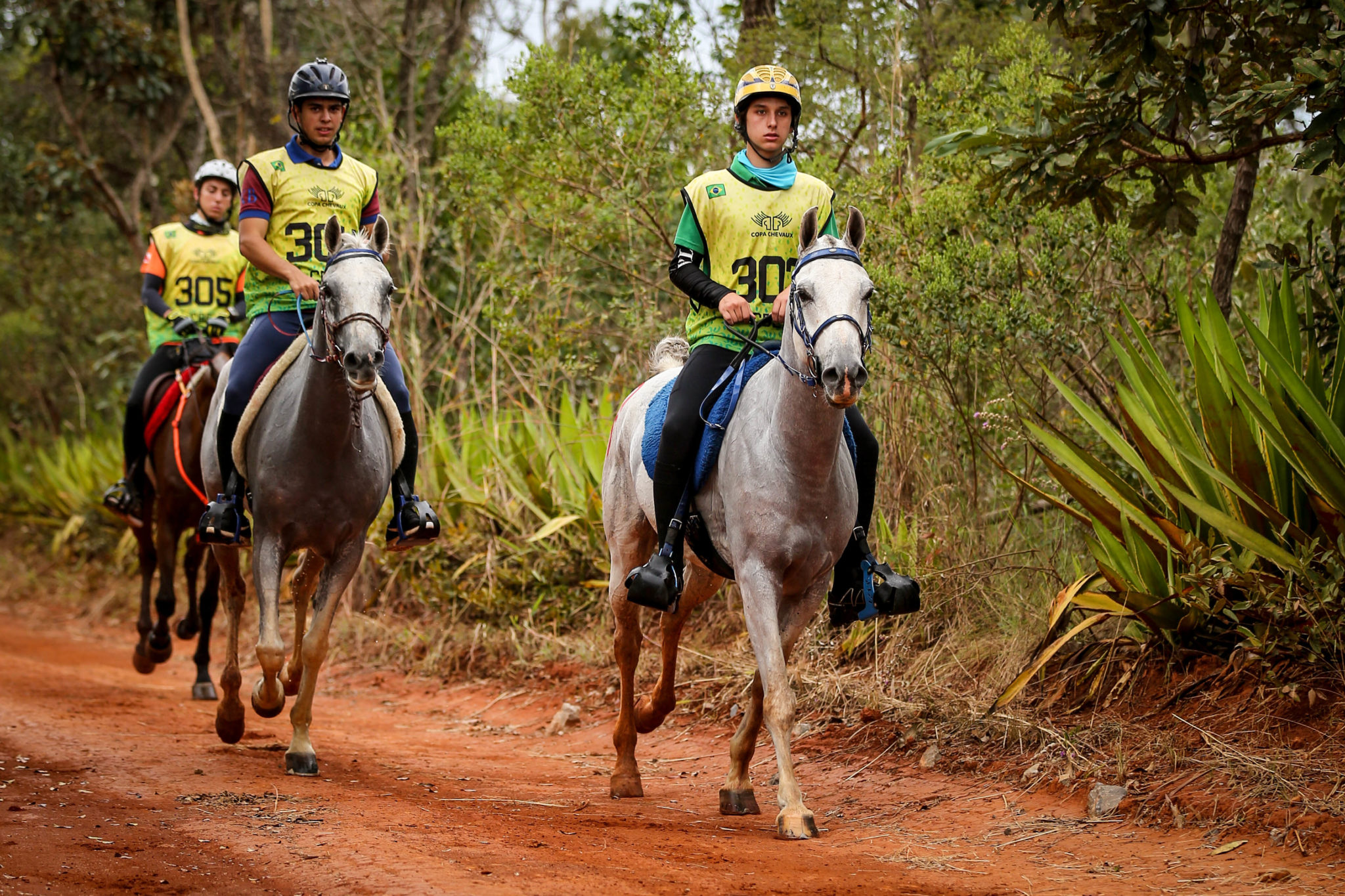 Endurance World Brasilia. Riders enjoying the ride.