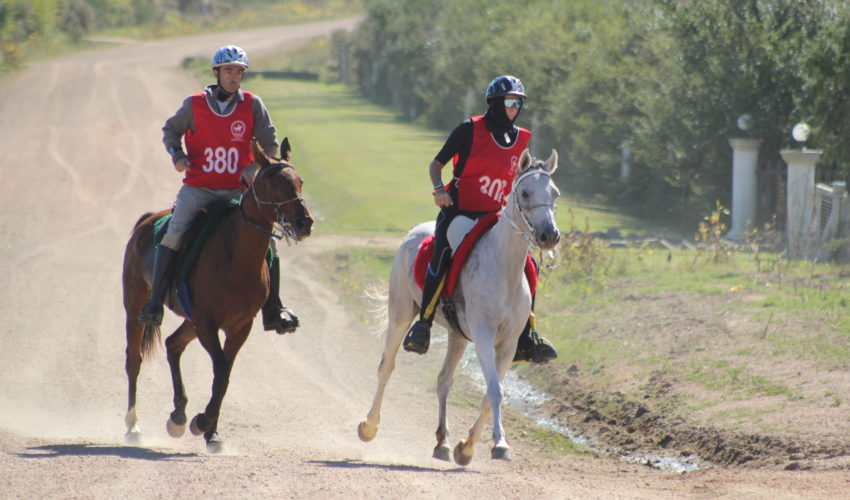 Endurance World Punta del Este sprint to the finish