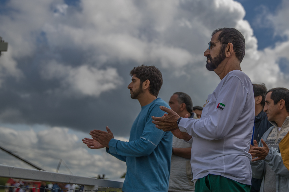 Endurance World Royal Windsor. Sheikh Mohammed and Sheikh Hamdan present.