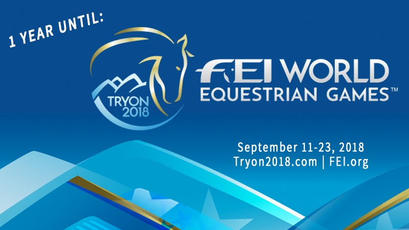 Endurance World WEG 2018 Tryon. The Countdown.