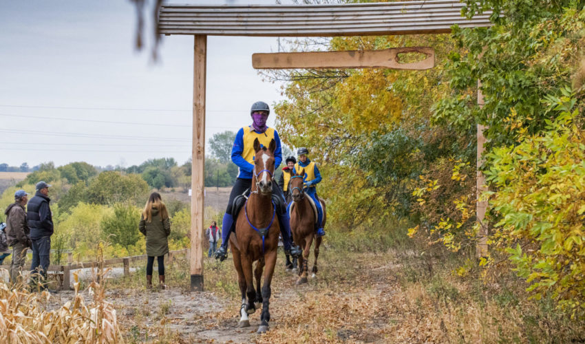 Endurance World Ukraine. Riding in the nature.